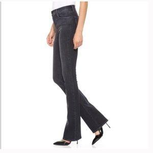 J Brand Black Skinny Boot Cut Jeans